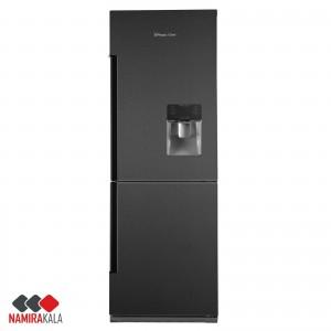 یخچال پایین فریزر کمبی آبریزدار مجیک شف مدل MCD-740W/WL/S