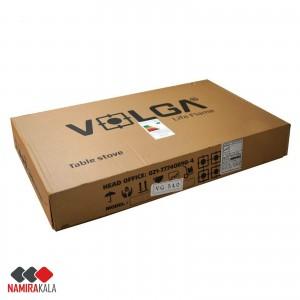 اجاق گاز صفحه ای 5 شعله شیشه ای ولگا مدل VG 540