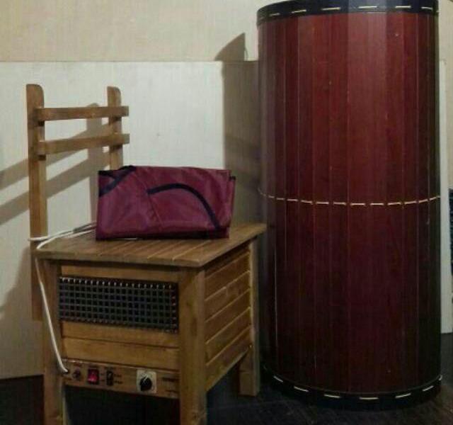 سونای خشک خانگی