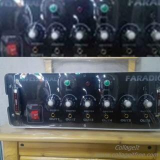 دستگاه فیزیوتراپی فارادیک پرفشینال 6 کانال 12 پد 400 هرتز