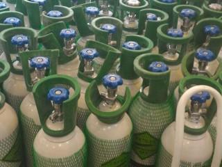کپسول 10 لیتری اکسیژن فولادی