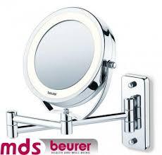 آینه لامپ داربا قابلیت نصب روی دیوار بیورر(beurer)مدل BS59