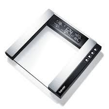 ترازوی شیشه ای تشخیصی برند بیورر (beurer) مدل BG55