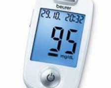 دستگاه تست قند خون برند بیورر (beurer) مدل GL40