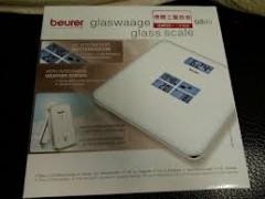 خرید ترازوی شیشه ای به همراه ایستگاه هواشناسی برند بیورر (beurer) مدل GS80