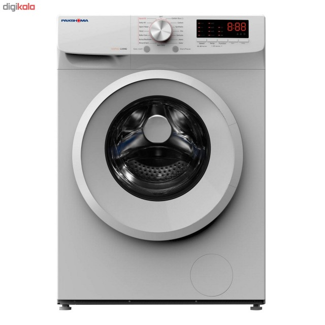 ماشین لباسشویی پاکشوما سفید مدل TFU-73200 ظرفیت 7 کیلوگرم