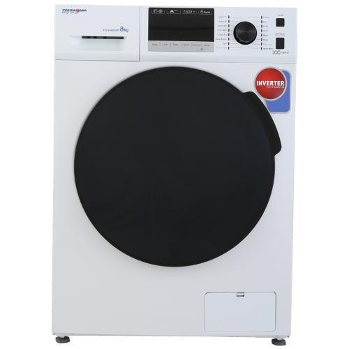 ماشین لباسشویی پاکشوما نقره ای مدل TFI-83403 ظرفیت 8 کیلوگرم