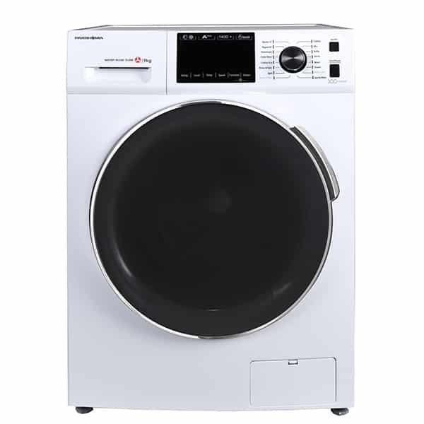 ماشین لباسشویی پاکشوما سفید مدل TFI-93406 ظرفیت 9 کیلوگرم