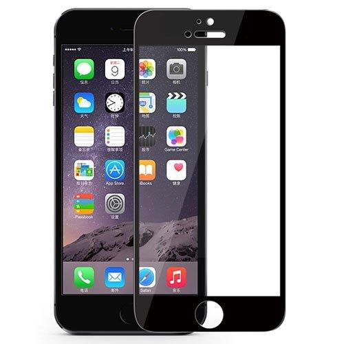 محافظ صفحه نمایش شیشه ای مشکی +Apple iPhone 6 CP