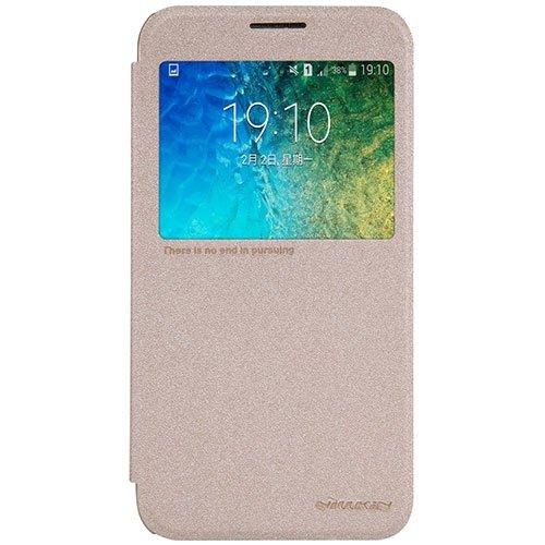 کیف چرمی Samsung Galaxy E5 Sparkle