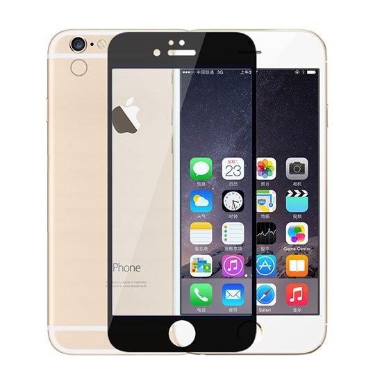 محافظ صفحه نمایش شیشه ای مشکی +Apple iPhone 6 Plus Amazing CPE
