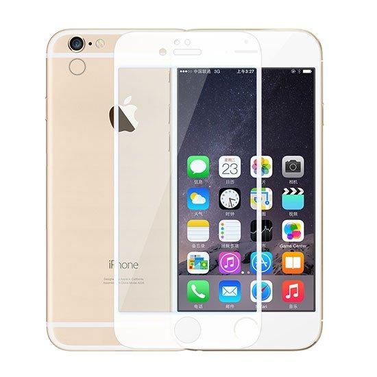محافظ صفحه نمایش شیشه ای سفید +Apple iPhone 6 Plus Amazing CPE