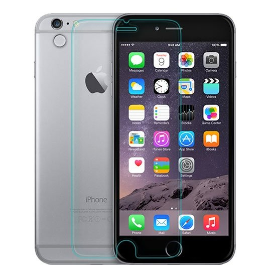 محافظ صفحه نمایش شیشه ای +APPLE iPhone 6 Plus Amazing H