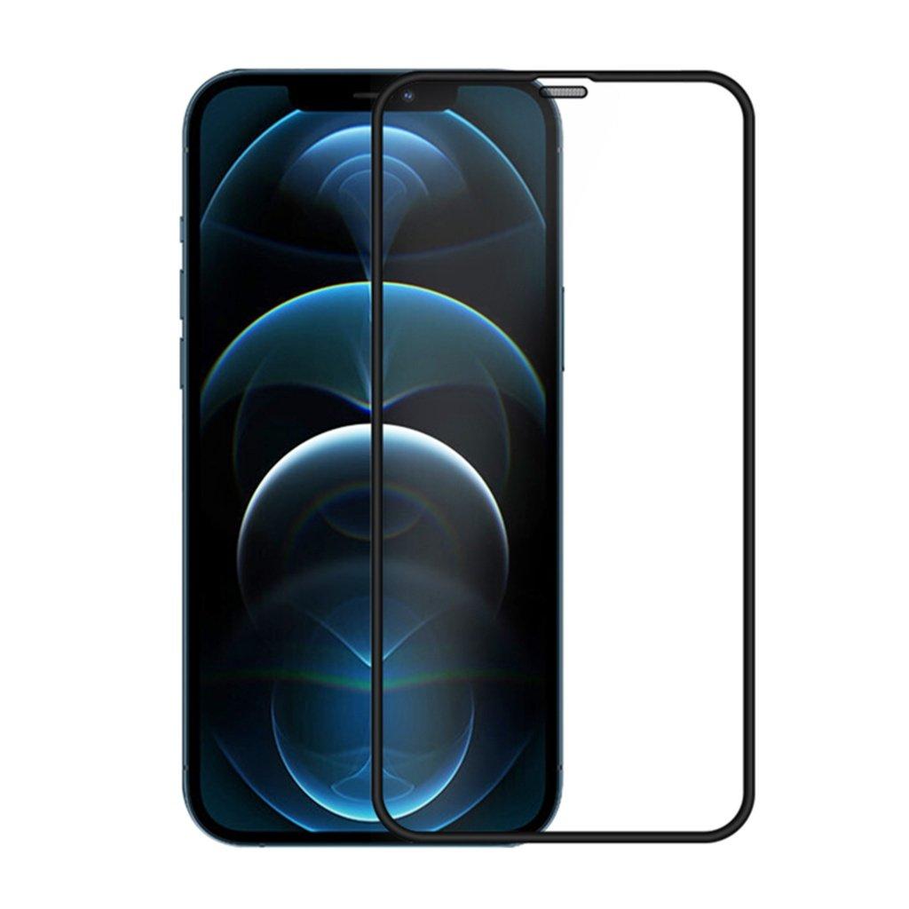 محافظ صفحه نمایش شیشهای نیلکین آیفون ۱۲  مینی - Nillkin iPhone 12 mini PC Full coverage ultra clear