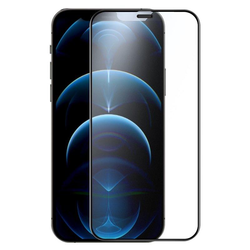 محافظ صفحه نمایش شیشهای مات نیلکین آیفون ۱۲ مینی - Nillkin iPhone 12mini FogMirror Full coverage matte tempered glass