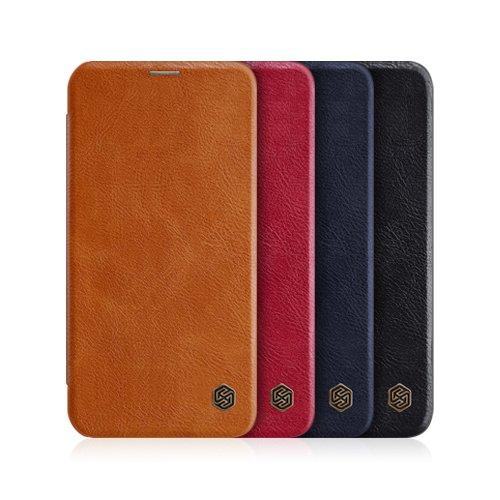 کیف چرمی نیلکین Apple iPhone 12 mini Qin leather case