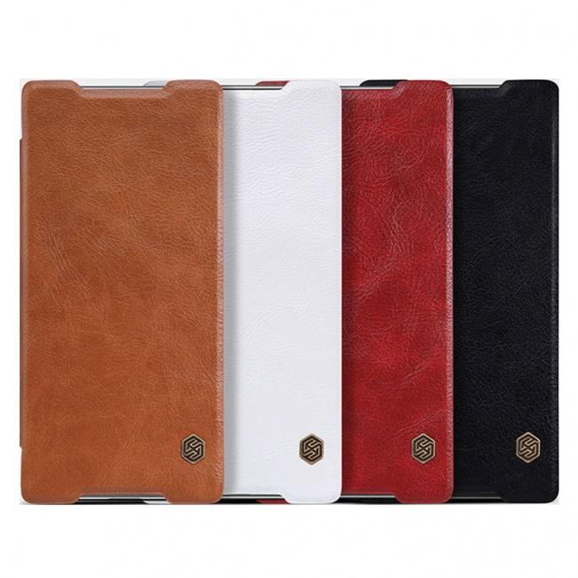 کیف چرمی Sony Xperia Z5 Premium Qin leather case