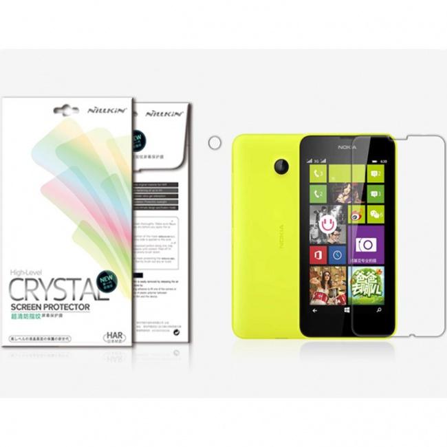 محافظ صفحه نمایش Nokia Lumia630 Super Clear Anti-fingerprint