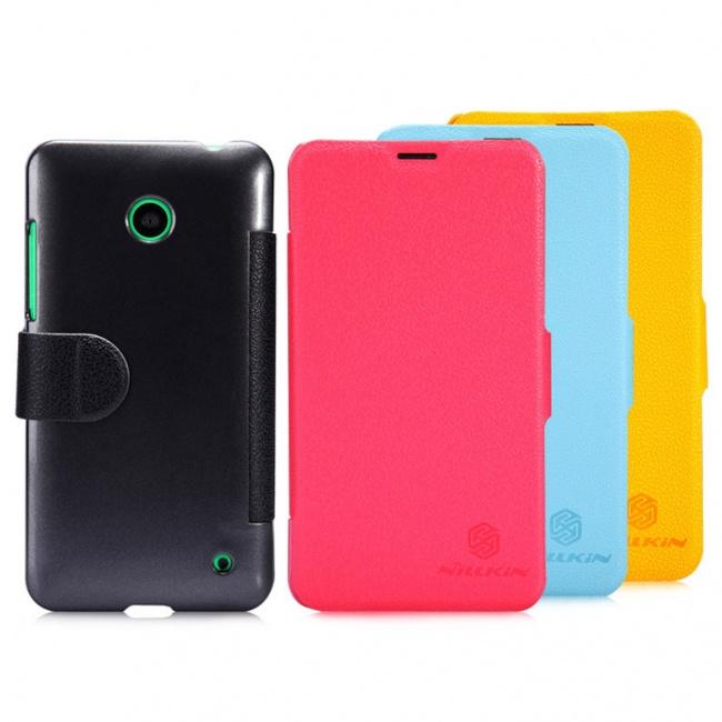 کیف محافظ Nokia Lumia 630 Fresh Series Leather Case
