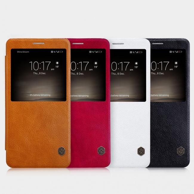 کیف محافظ نیلکین Nillkin Qin leather case For Huawei Mate 9