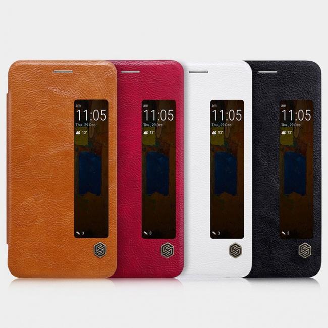 کیف محافظ نیلکین Nillkin Qin leather case For Huawei Mate 9 Pro