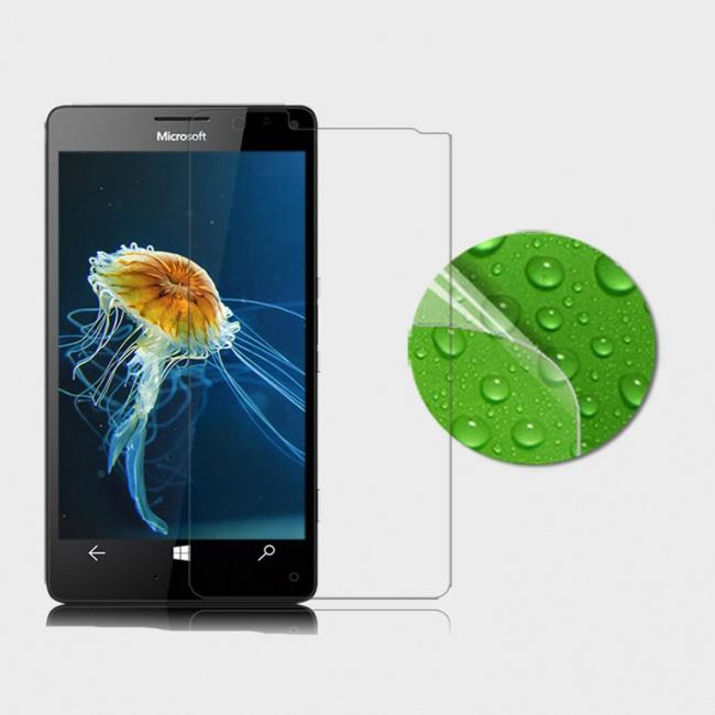 محافظ صفحه نمایش شفاف Microsoft Lumia 950 XL Super Clear Anti-fingerprint