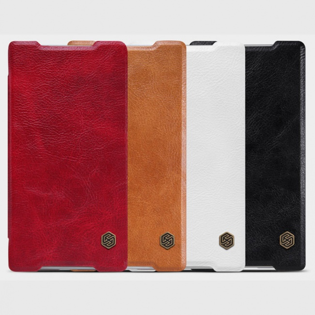 کیف چرمی Sony Xperia Z5 Qin leather case