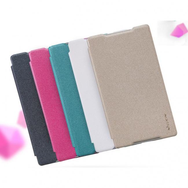 کیف محافظ Sony Xperia Z5 Sparkle Leather Case