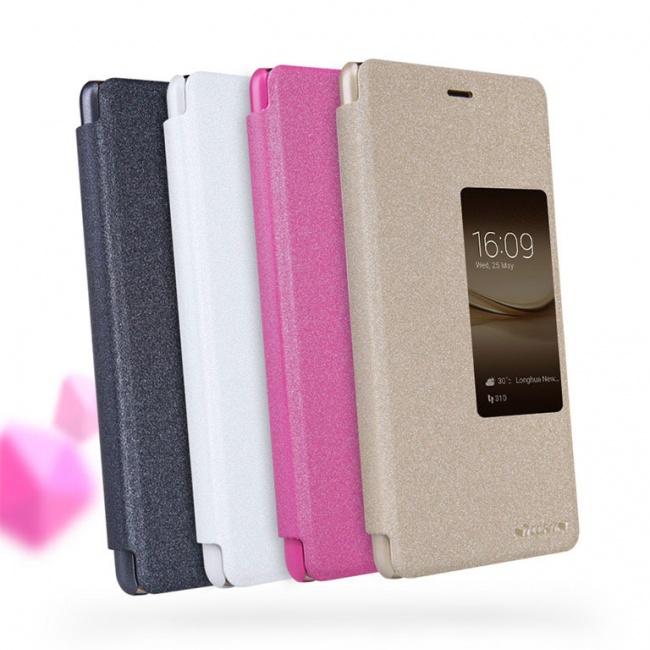 کیف محافظ نیلکین Nillkin Sparkle Leather Case For Huawei Ascend P9 Plus