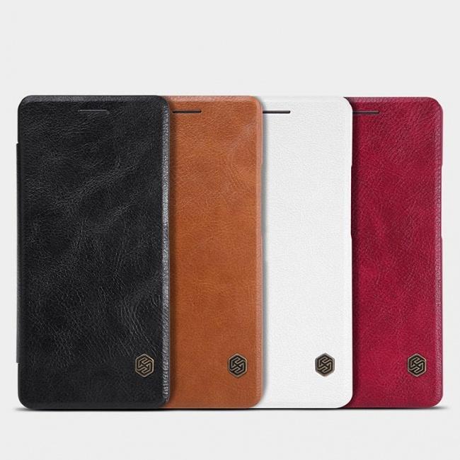 کیف محافظ نیلکین  Nillkin Qin Leather Case For Huawei P9 Lite