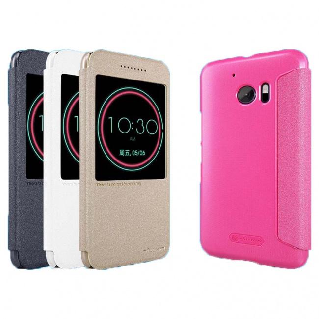 کیف نیلکین مدل اسپارکل HTC 10(10 Lifestyle) NEW LEATHER CASE- Sparkle Leather Case