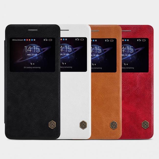 کیف محافظ نیلکین  Nillkin Qin Leather Case For Huawei Honor V8