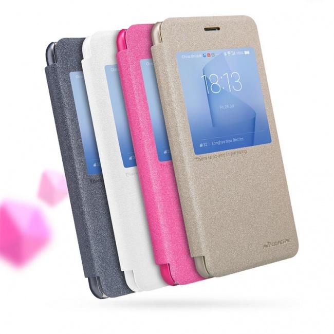 کیف محافظ نیلکین Nillkin Sparkle Leather Case For Huawei Honor 8