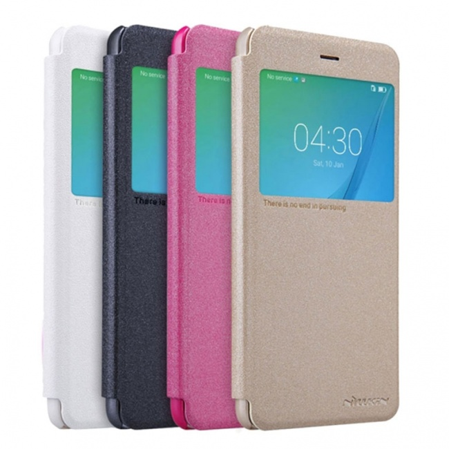 کیف محافظ چرمی نیلکین Nillkin Sparkle Leather Case For Huawei Nova