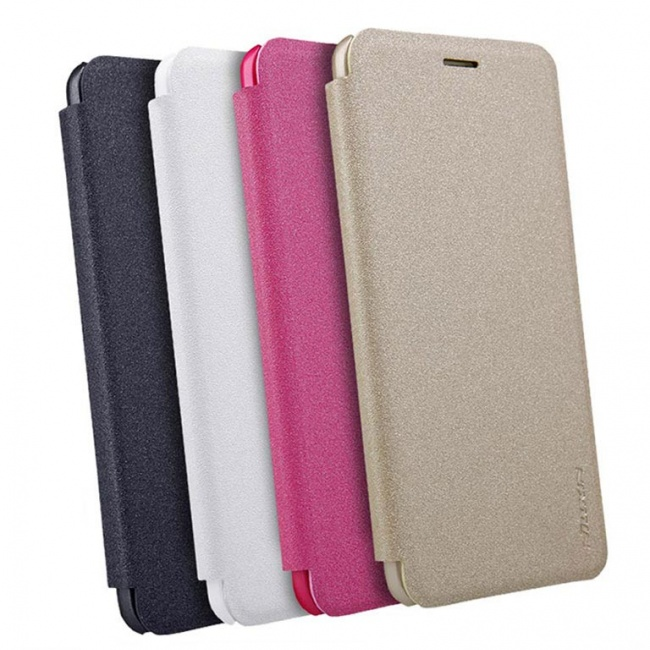 کیف محافظ چرمی نیلکین Nillkin Sparkle Leather Case For Huawei Enjoy 6