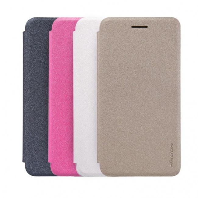 کیف محافظ چرمی نیلکین Nillkin Sparkle Leather Case For Huawei Enjoy 5s