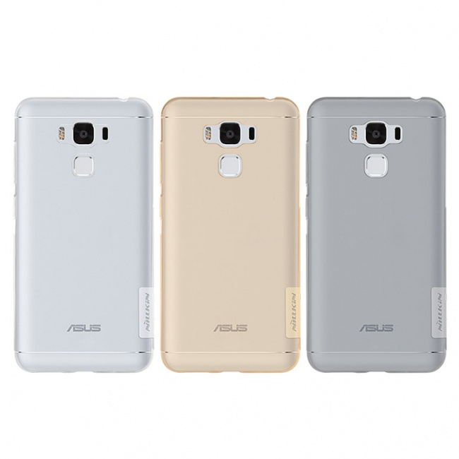 قاب محافظ ژله ای نیلکین Nillkin Nature TPU Case For Asus Zenfone 3 Max ZC553KL
