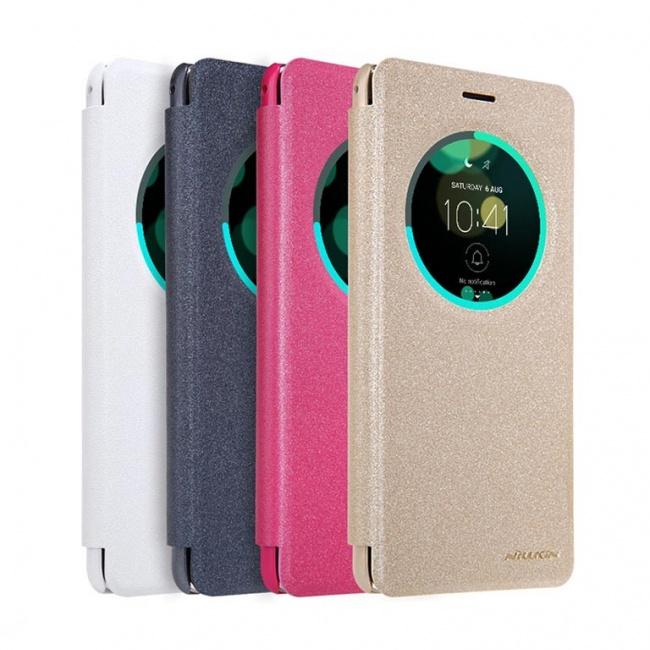 کیف محافظ چرمی نیلکین Nillkin Sparkle Leather Case For Asus Zenfone 3 Deluxe ZS570KL