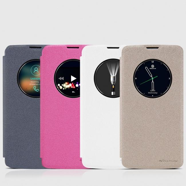 کیف محافظ LG K8 NEW LEATHER CASE- Sparkle