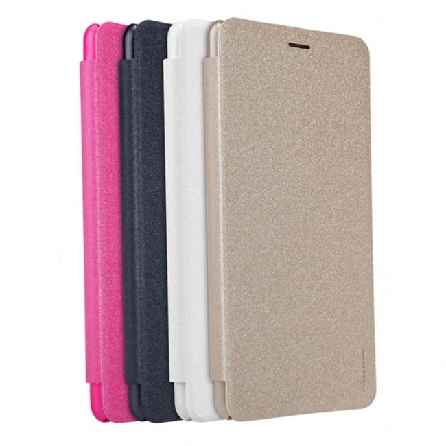 کیف محافظ چرمی نیلکین Nillkin Sparkle Leather Case For Asus Zenfone 3 Ultra ZU680KL