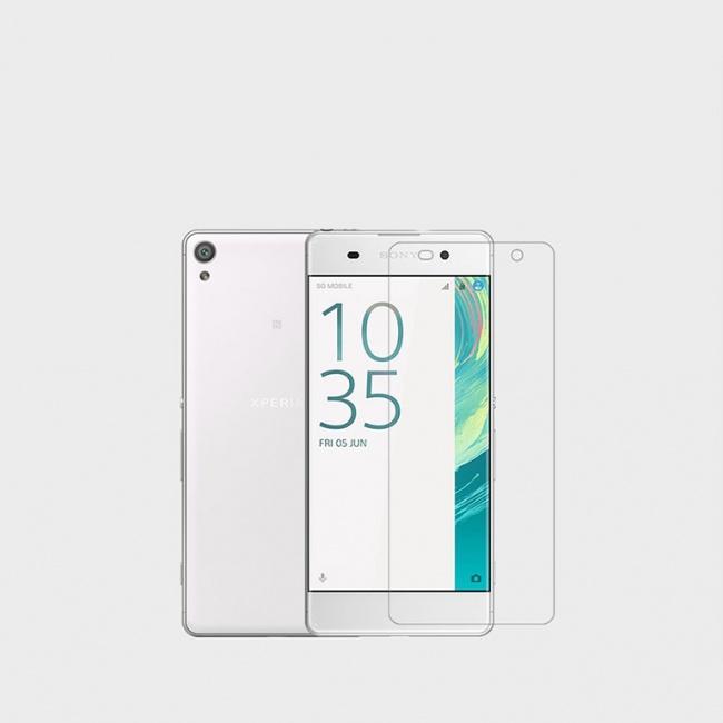محافظ صفحه نمایش شفاف Sony Xperia XA Super Clear Anti-fingerprint