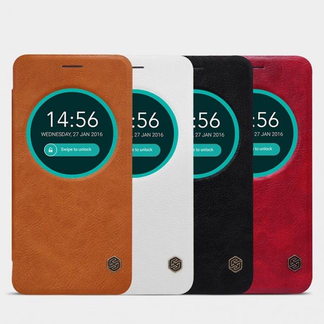 کیف محافظ چرمی نیلکین Nillkin Qin Leather Case For Asus Zenfone Max ZC550KL
