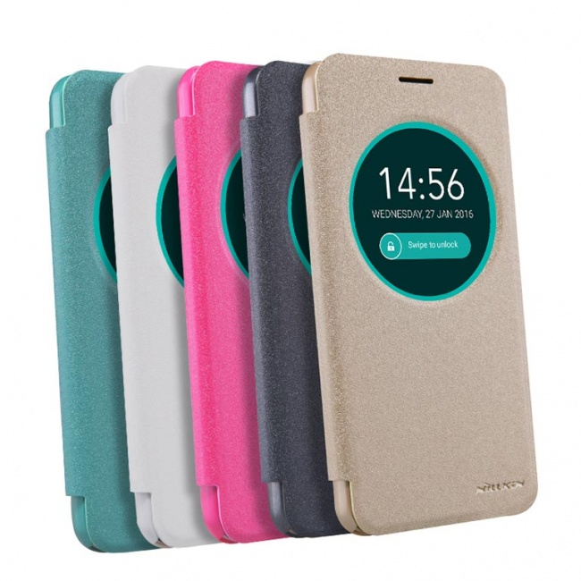 کیف چرمی نیلکین Nillkin Sparkle Leather Case For Asus Zenfone Max ZC550KL