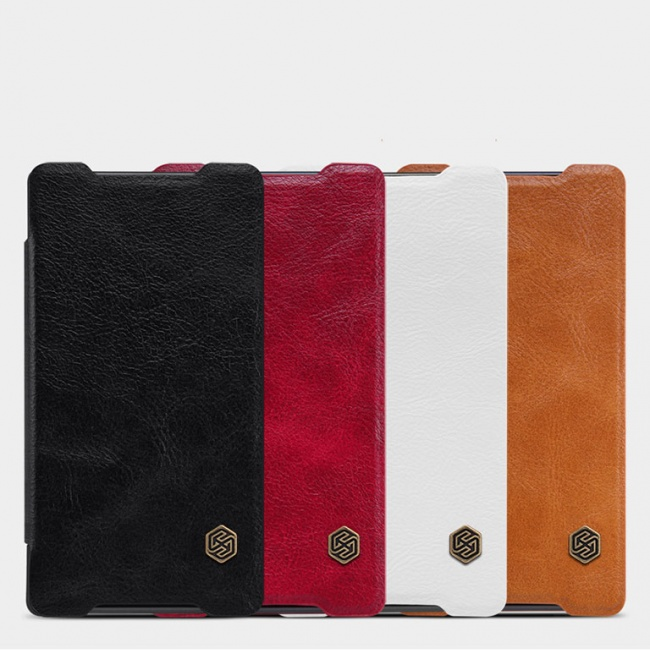 کیف چرمی Sony Xperia Z5 Compact Qin leather case