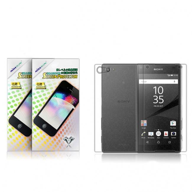 محافظ صفحه نمایش Sony Xperia Z5 Compact Bright diamond protective film