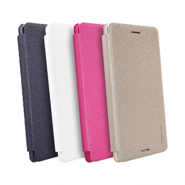 کیف محافظ Sony Xperia X Performance NEW LEATHER CASE- Sparkle