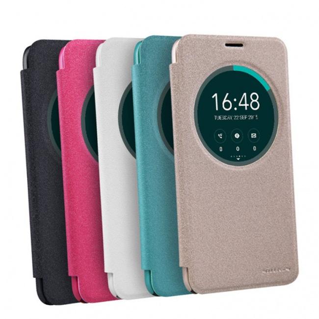 کیف محافظ چرمی نیلکین Nillkin Sparkle Leather Case For Asus Zenfone Selfie ZD551KL