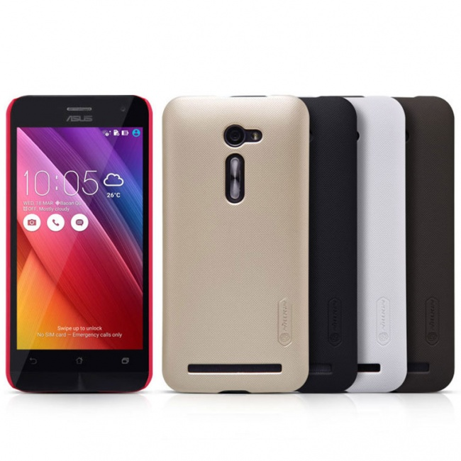 قاب محافظ نیلکین Nillkin Super Frosted Shield For Asus Zenfone 2 ZE500CL