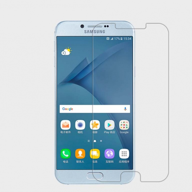 محافظ صفحه نمایش Nillkin Super Clear Anti-fingerprint For Samsung Galaxy A8 2016
