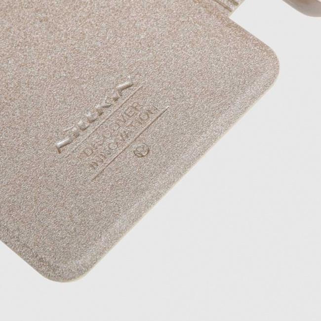 کیف محافظ  NILLKIN NEW LEATHER CASE-Sparkle Leather Case For Samsung Galaxy A9 PRO